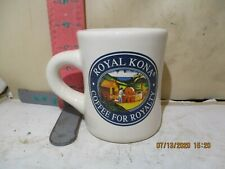 HAWAII COFFEE COMPANY RESTAURANT WEIGHT MUG - ROYAL KONA , MADE IN TAIWAN