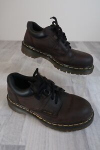 Dr. Doc Martens Shoes 8312 Brown Leather Lace Up womens 5