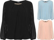 Polyester Long Sleeve Plus Size T-Shirts for Women