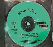 Ghetto Twiinz 2001 Sukey Sukey Rap A Lot PROMO CD SINGLE J Prince