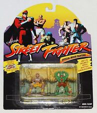 Street Fighter Dhalsim vs. Blanka Metal 2-Pack Official Movie Fighters 1994 MOC