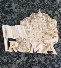 FRIDGE MAAGNET TOURIST SOUVENIR WORLD FAVORITE 3D MAGNETIC-ROMA city hall