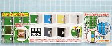 Miniatures Mini Locker 7pcs - Kitan Club RARE COLLECTIBLE   ==
