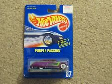Hot Wheels #87 Purple Passion W/ Speed Points 1:64 MOC 1989