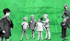 Schaufensterpuppe Schön Berlin Prospekt von 1965 Mannequin Kinder Figuren  +