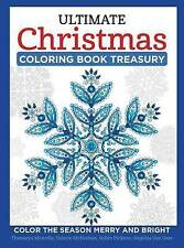 Ultimate Christmas Coloring Book Treasury Color Season Merry By McArdle Thaneeya