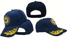 US Navy Active Duty Shadow Eggs Feather Feathers Seal Blue Ball Hat Cap (RUF)