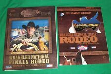 2003 WRANGLER NATIONAL COWBOY RODEO LAS VEGAS NEVADA PRCA SOUVENIR PROGRAM BOOK
