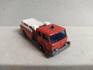 Camión de Bomberos ,  fire pumper truck ,  Matchbox n°29