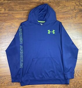 under armour all season gear hoodie loose fit 2X blue R2