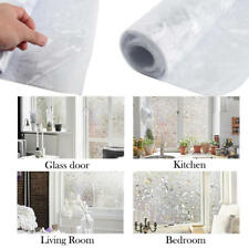 Self Adhesive Cover Frosted Window Glass Film Sticker Privacy Home Decor Sticker