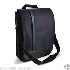 """14"""" Deluxe Laptop Messenger Bag and Rucksack in One Stylish Business Computer UK"""