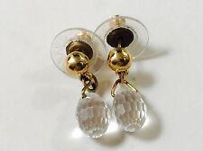 Swarovski Clear Crystal Pierced Earrings