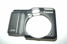Canon PowerShot G10 Front Cover With Rubber Replacement Repair Part