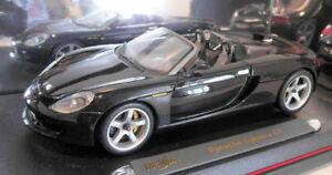 Maisto 1/18 Scale - 36622 Porsche Carrera GT Black