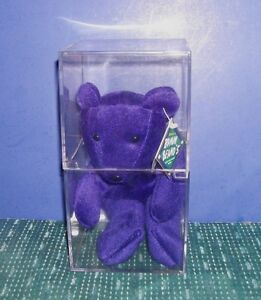 Bamm Beano's Beanie Bear - McGwire #25 in Collector's Box - Hang Tag