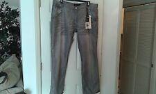 NWT F.U.S.A.I. Men's Jeans  Size 44 X 33  Gray  Relaxed Fit      (CT006K)