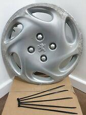 "PEUGEOT 206 14"" Inch Wheel Trim/Hub Cap Genuine x1 9628918177 FLORIDA"
