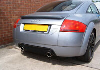 AUDI TT 8N MK1 NEW 3.2 V6 HONEYCOMB REAR BUMPER LOWER VALANCE DIFFUSER Spoiler