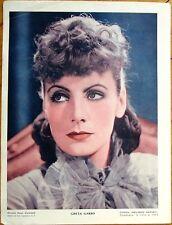 GRETA GARBO 1930s Movie Star Portrait - Hatuey Ice Cream Advertising - Cuba