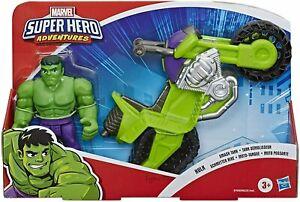 NEW Playskool Heroes MARVEL SUPER HERO ADVENTURES ~ HULK SMASH TANK Motorbike