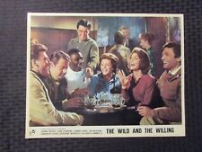 1962 THE WILD AND THE WILLING 14x11 Lobby Card VG+ 4.5 Virginia Maskell LOT of 2