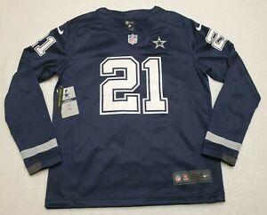 Nike Dallas Cowboys Ezekiel Elliott Women's Therma Jersey Size Small MSRP $120