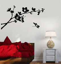Vinyl Wall Decal Sakura Tree Branch Flowers Nature Asian Style Stickers (1333ig)