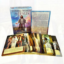 A 44-Card Deck of Comforting Quotes Doreen Virtue Loving Words from Jesus New Br