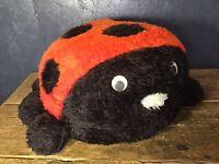 Vintage Ladybird Pouffee Footstool