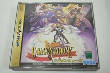 Sega Saturn Dragon Force Japan SS