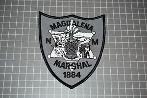 Magdalena New Mexico Marshal Patch (S01-2)