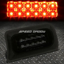FOR 1994-2003 CHEVY S10/GMC SONOMA BLACK SMOKED THIRD 3RD BRAKE LED LIGHT LAMP