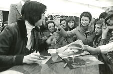 ALAIN CHAMFORT 1970s 2  VINTAGE MINI PHOTOS ORIGINAL LOT