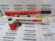 SPX 2 STAGE P159 HAND OPERATED HYDRAULIC PUMP w/ 15 TON CYLINDER C152C NEW