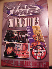 Star Wars - 30 Valentines w/ non-mailable envelopes