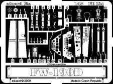 Eduard zoom FE124 1/48 focke-wulf fw 190D dragon trimaster