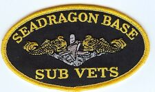 Seadragon Base - Gold Dolphins BC Patch Cat No C6822