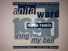 "ANITA WARD - RING MY BELL: 7"" VINYL SINGLE (1990 MEGA REMIX)  (NEW/UNPLAYED"