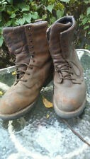 Red Wing Shoes Men's Sz 13EE LoggerMax 9-Inch Brown ST EH Logger Boot  4417 EUC