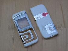 Original Nokia 7260 A + C - Cover | Frontcover | Akkudeckel Weiß White NEU