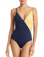 Onia Jacque Color-Blocked One Piece Swimsuit $175 Size M # U2 353 NEW