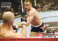 2009 TOPPS UFC ROUND 1 ROOKIE RC DEBUT RICH FRANKLIN #14