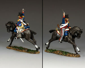 KING & COUNTRY THE AGE OF NAPOLEON NA430 KGL DRAGOON CHARGE MIB