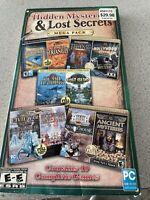 Hidden Mysteries & Lost Secrets Mega Pack 10 PC CD-ROM games UPC #705381317104