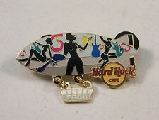 HARD ROCK ONLINE BLIMP SERIES 1-3 ALL 3 LE 75 PIN VERY RARE & HARD TO FIND 2008