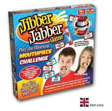 JIBBER JABBER PARTY GAME Family Fun Challenge Party Board Games 6 Mouthpieces UK