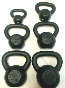 CAST IRON YES4ALL KETTLEBELLS choose your size 10 15  25  KETTLEBELL WEIGHTS
