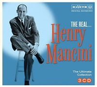 HENRY MANCINI * 60 Greatest Hits * 3-CD BOX SET * All Original RCA Songs * NEW