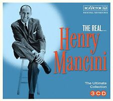 HENRY MANCINI * 60 Greatest Hits* Import 3-CD BOX SET *Orig Songs *NEW & SEALED